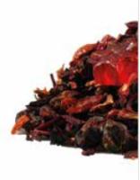 Früchtetee/Fruchtgummimischung Glühsternchen