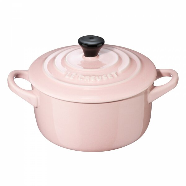 Mini Cocotte shell pink 10 cm