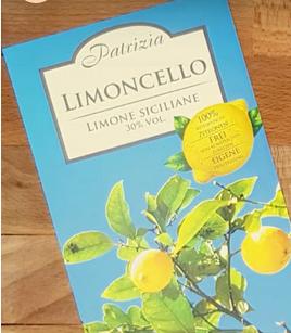Limoncello (italienischer Zitronenlikör) 30% vol. Patrizia