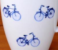 Blaue Fahrräder Design - mit Produktauswahl