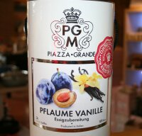 Piazza Grande Pflaume Vanille Essigzubereitung 500 ml