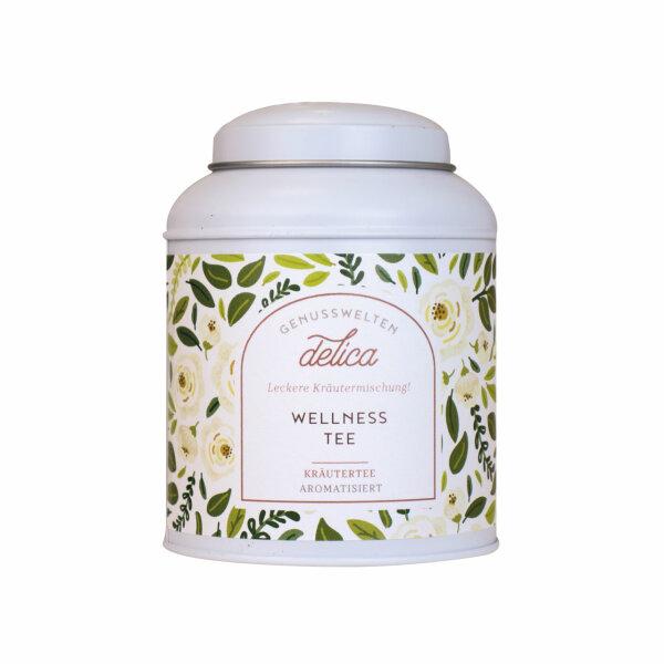 Wellness-Tee - aromatisierte Kräuterteemischung